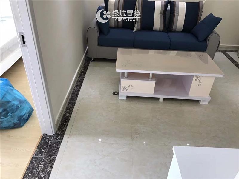 杭州黄龙金茂悦出租房客厅照片,