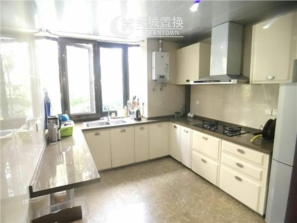 杭州郁金香岸出租房厨房照片,