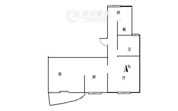 杭州郁金香岸出租房户型图照片,