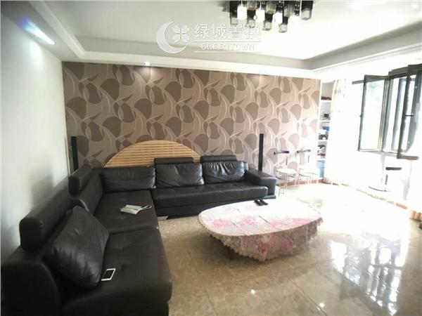 杭州郁金香岸出租房客厅照片,