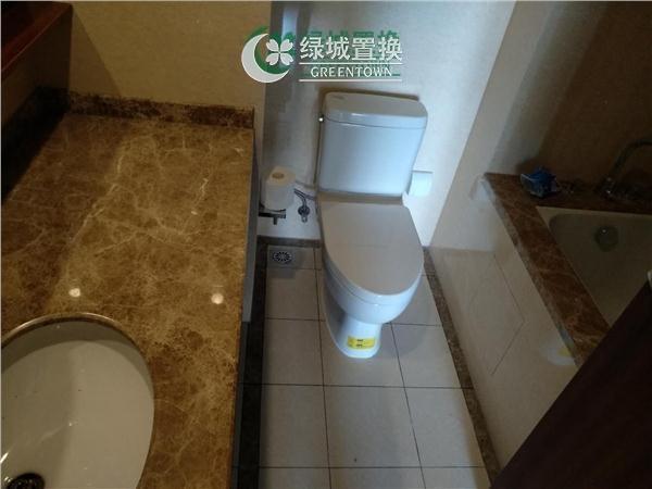 杭州金辰之光出租房卫生间照片,滨康商圈 .金辰之光