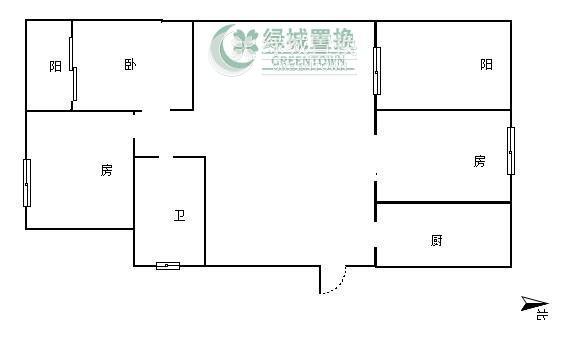 杭州擎天半岛出租房户型图照片,