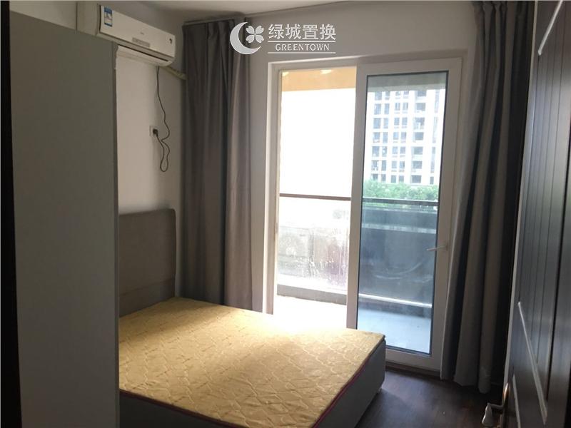 杭州嘉丰万悦城出租房房间照片,小清新装修,家具家电齐全!
