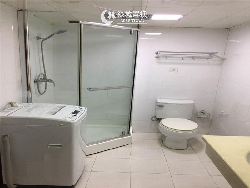 杭州出租房卫生间照片,临平商圈.英国漫纯国际酒店