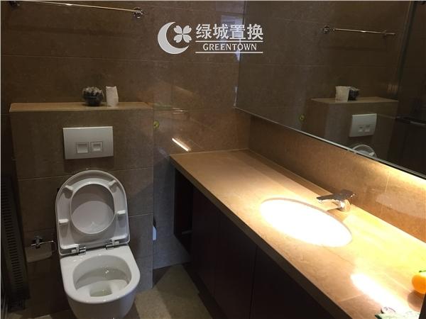 杭州昆仑公馆出租房卫生间照片,