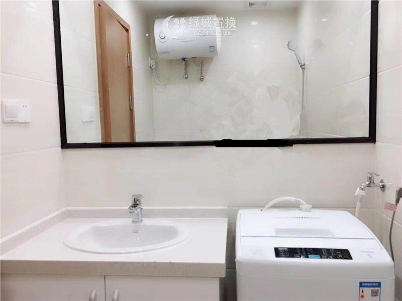 杭州西溪蓝海出租房卫生间照片,