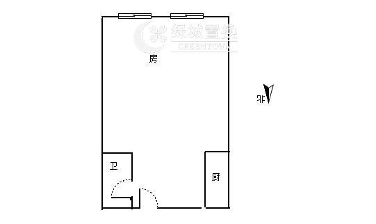 杭州西溪蓝海出租房户型图照片,