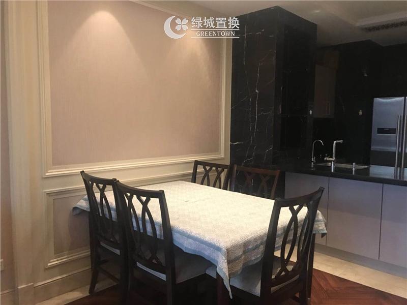 杭州蓝色钱江出租房餐厅照片,