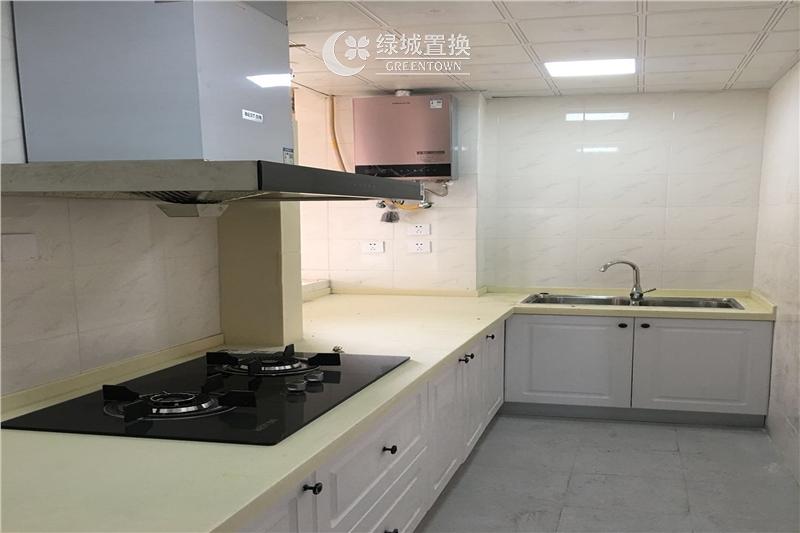 杭州出租房厨房照片,
