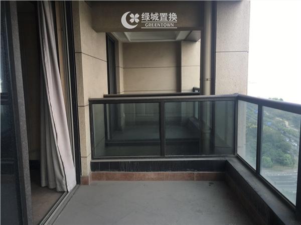 杭州阳光国际出租房阳台照片,