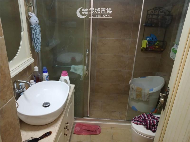 杭州翡翠城梅苑出租房卫生间照片,精装修,拎包入住