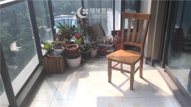 杭州金色黎明出租房阳台照片,房东诚心出租