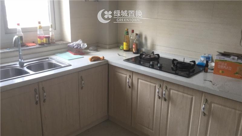 杭州金色黎明出租房厨房照片,房东诚心出租
