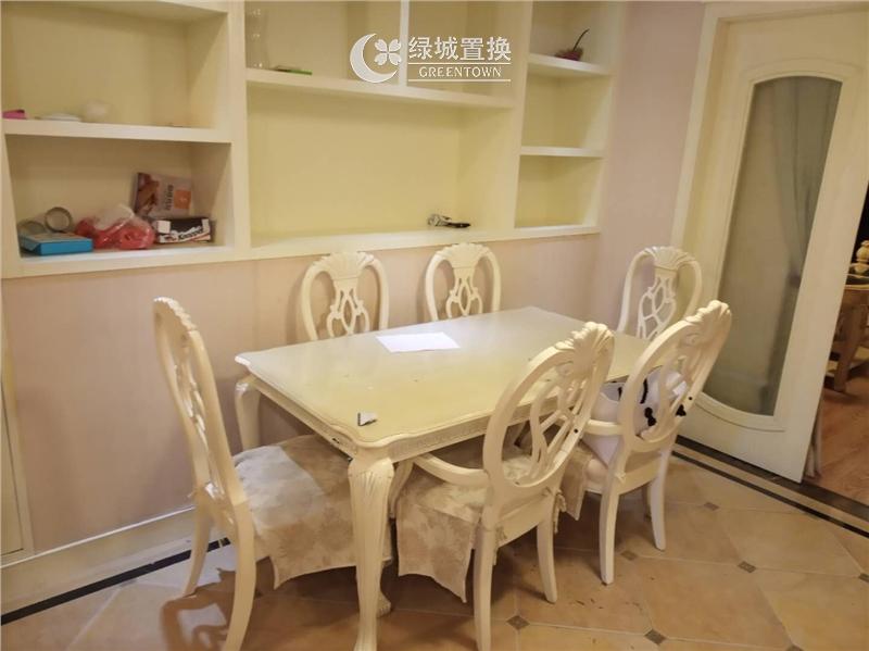 杭州翡翠城梅苑出租房餐厅照片,精装修,拎包入住