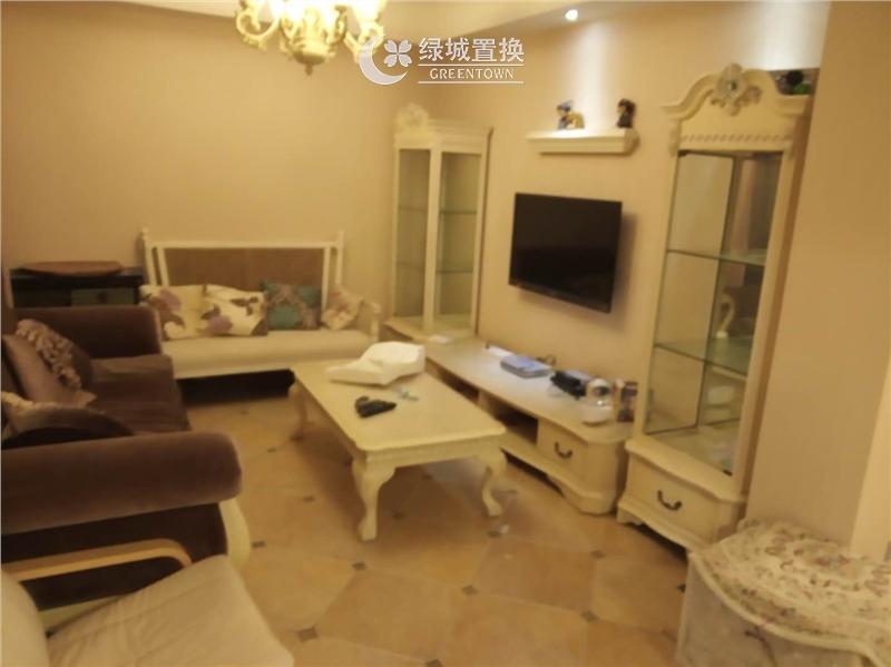 杭州翡翠城梅苑出租房客厅照片,精装修,拎包入住