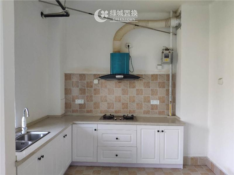 杭州田园牧歌风禾苑出租房厨房照片,诚心出租