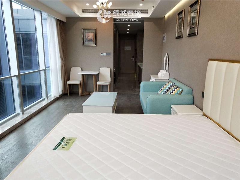 杭州绿城运河郡出租房房间照片,