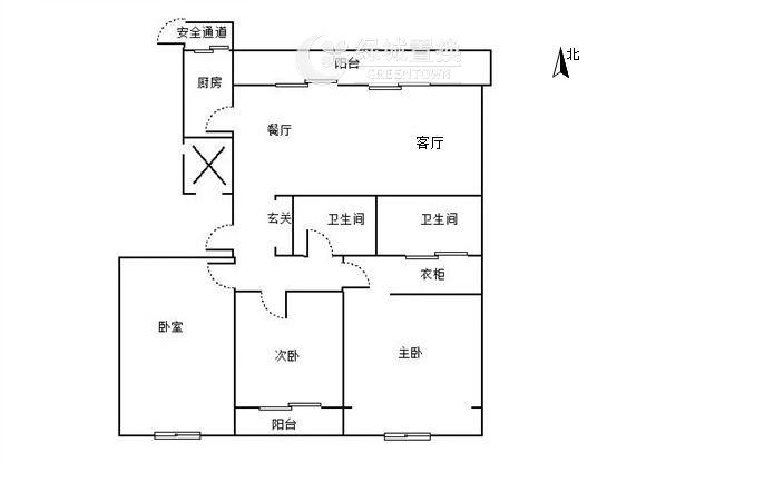 杭州绿地旭辉城出租房户型图照片,