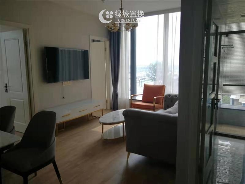 杭州绿城巧圆出租房客厅照片,