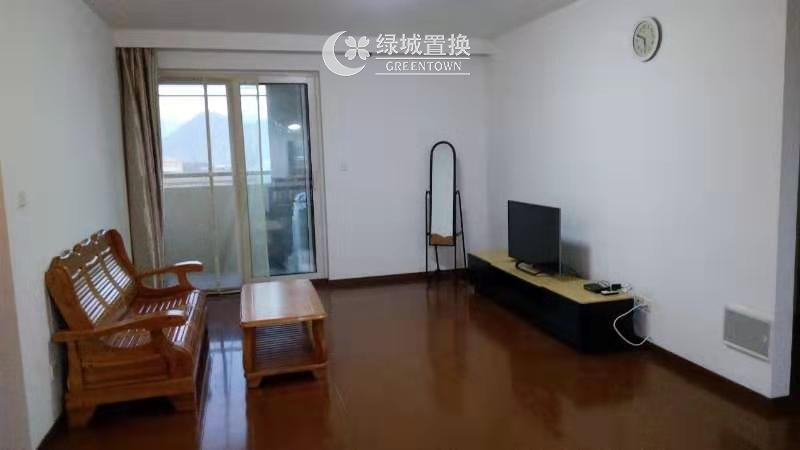 杭州翡翠城绿萝苑出租房客厅照片,