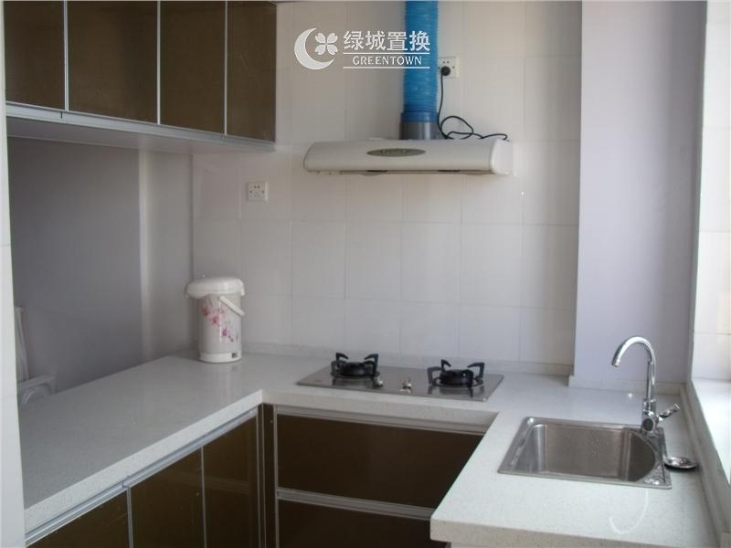杭州翡翠城绿萝苑出租房厨房照片,
