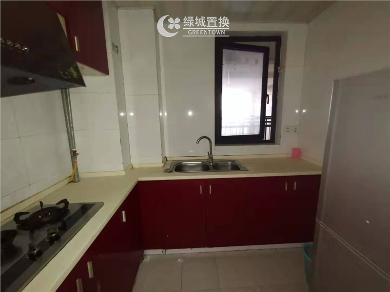 杭州相江公寓出租房厨房照片,