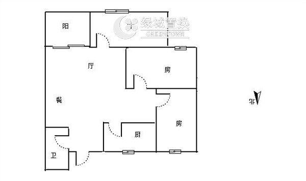 杭州相江公寓出租房户型图照片,