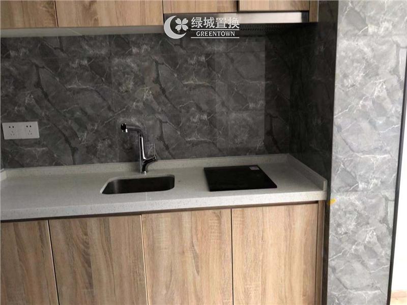 杭州三立钱塘ONE出租房厨房照片,