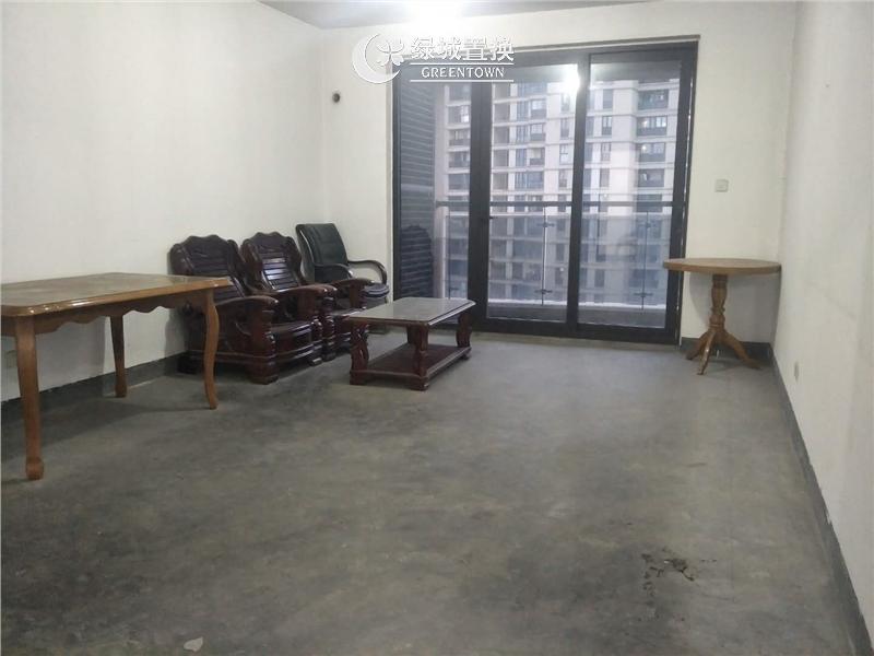 杭州郁金香岸出租房客厅照片,家具家电齐全 拎包入住