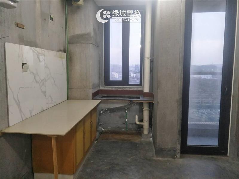 杭州郁金香岸出租房厨房照片,家具家电齐全 拎包入住