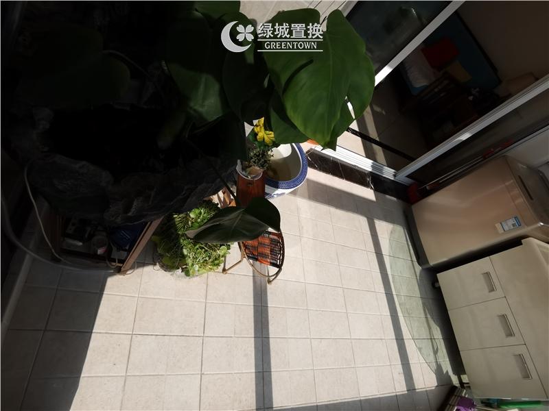 杭州金都夏宫出租房阳台照片,金都夏宫 小户型 诚心出租