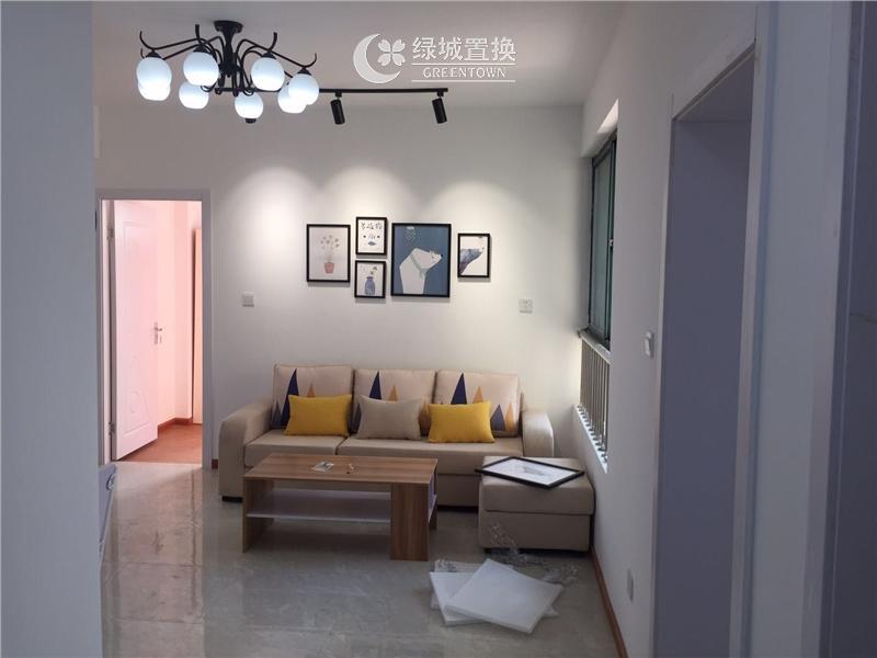 杭州钱塘福苑出租房客厅照片,