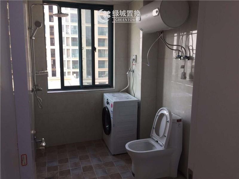 杭州钱塘福苑出租房卫生间照片,