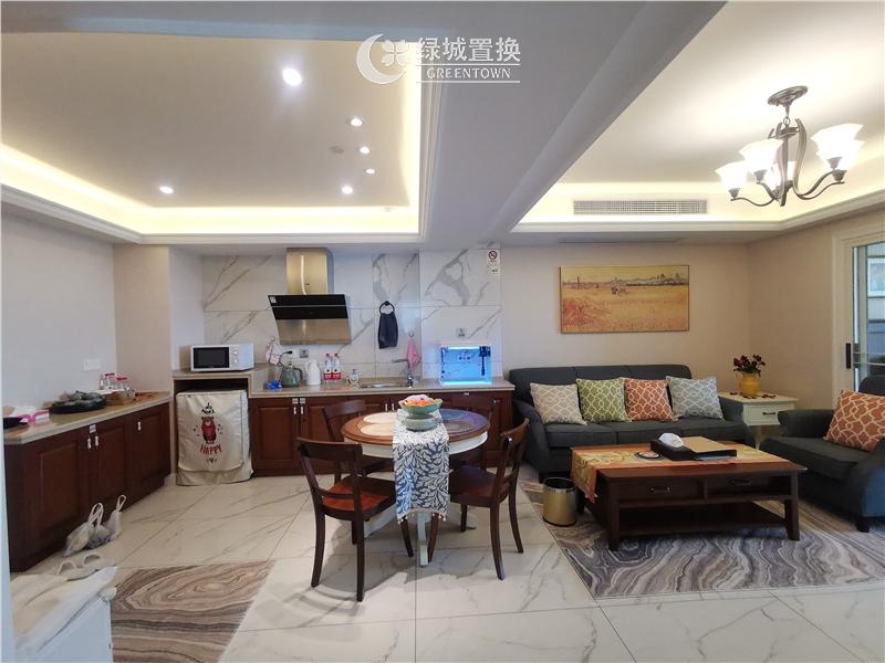 杭州金桂大厦出租房餐厅照片,金桂大厦唯一一套豪华装修房间