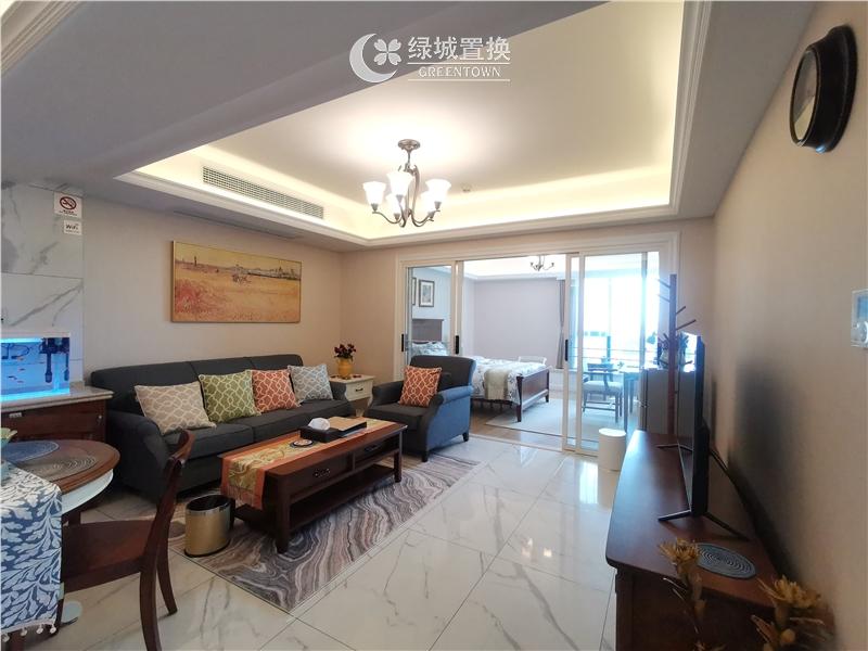 杭州金桂大厦出租房客厅照片,金桂大厦唯一一套豪华装修房间