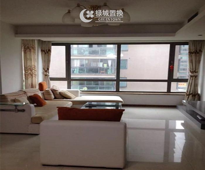 杭州锦昌文华出租房客厅照片,诚心出租,看房方便,拎包入住