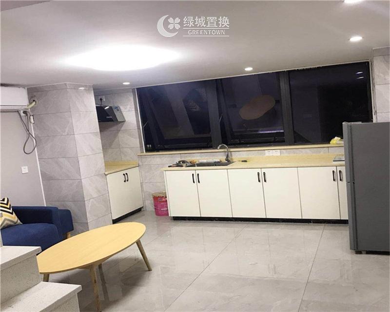 杭州万宝城出租房厨房照片,