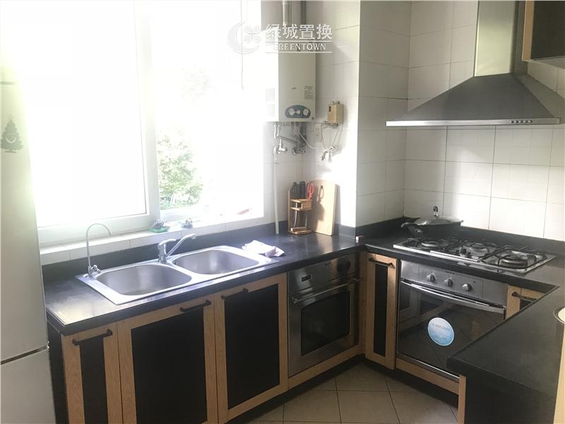 杭州桂花城出租房厨房照片,