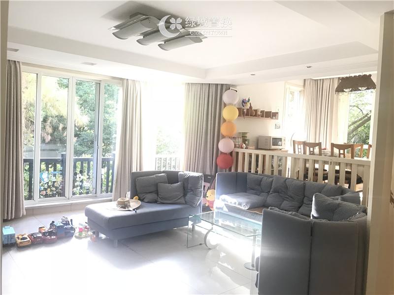 杭州桂花城出租房客厅照片,