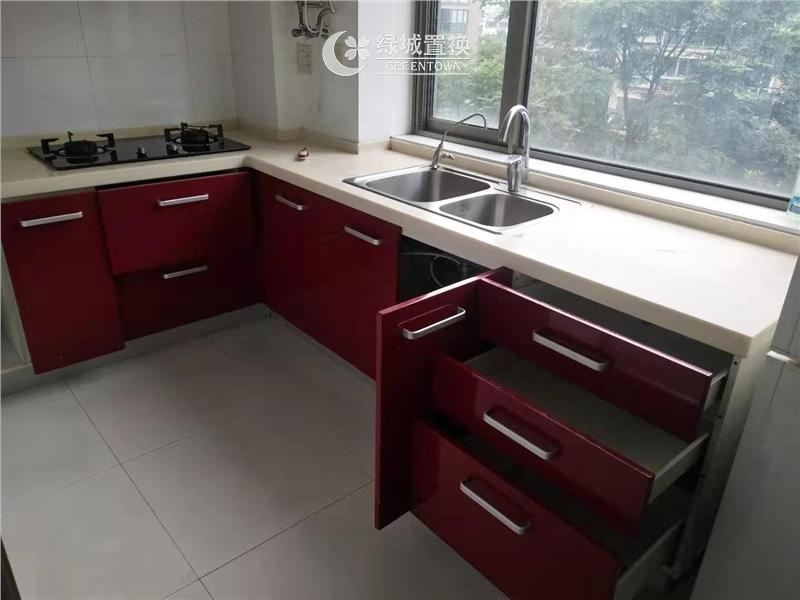 杭州锦昌文华出租房厨房照片,诚心出租,看房方便,拎包入住