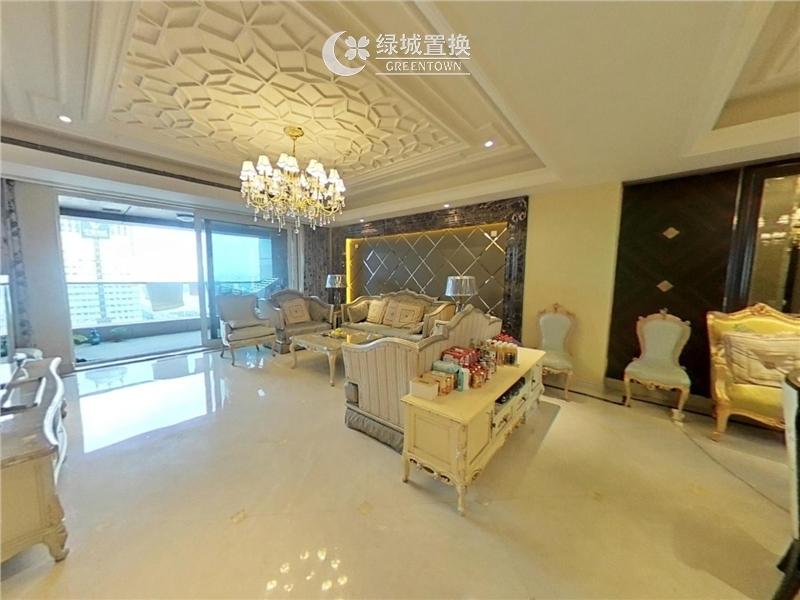 杭州城市之星出租房客厅照片,