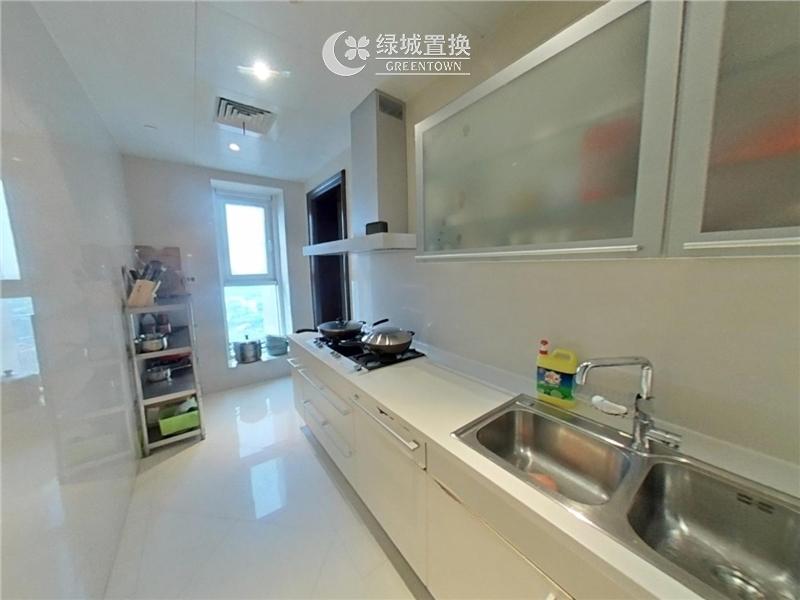 杭州城市之星出租房厨房照片,