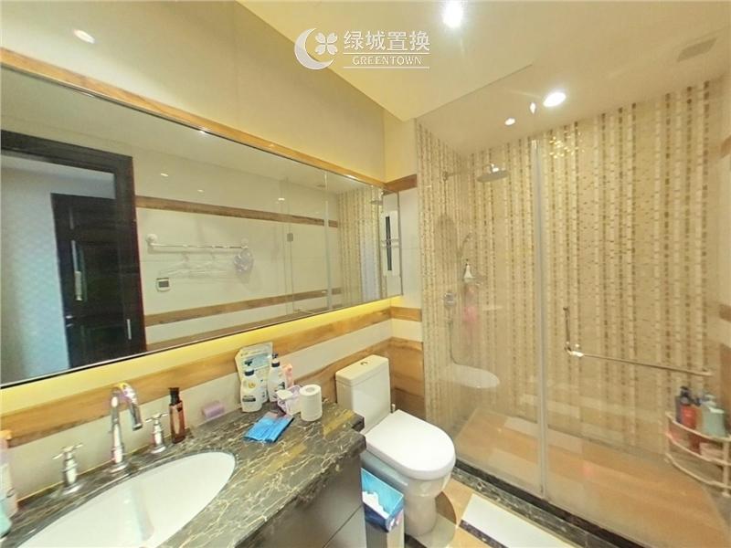 杭州城市之星出租房卫生间照片,