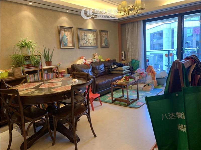 杭州望江府出租房客厅照片,诚心出租 看房提前约