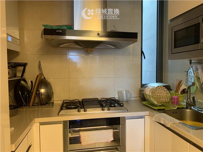 杭州望江府出租房厨房照片,诚心出租 看房提前约