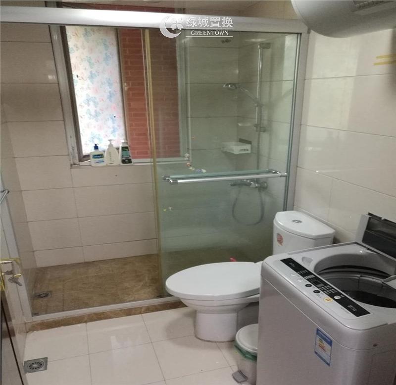 杭州翡翠城云竹苑出租房卫生间照片,自住精装修,小区中心位置,拎包入住