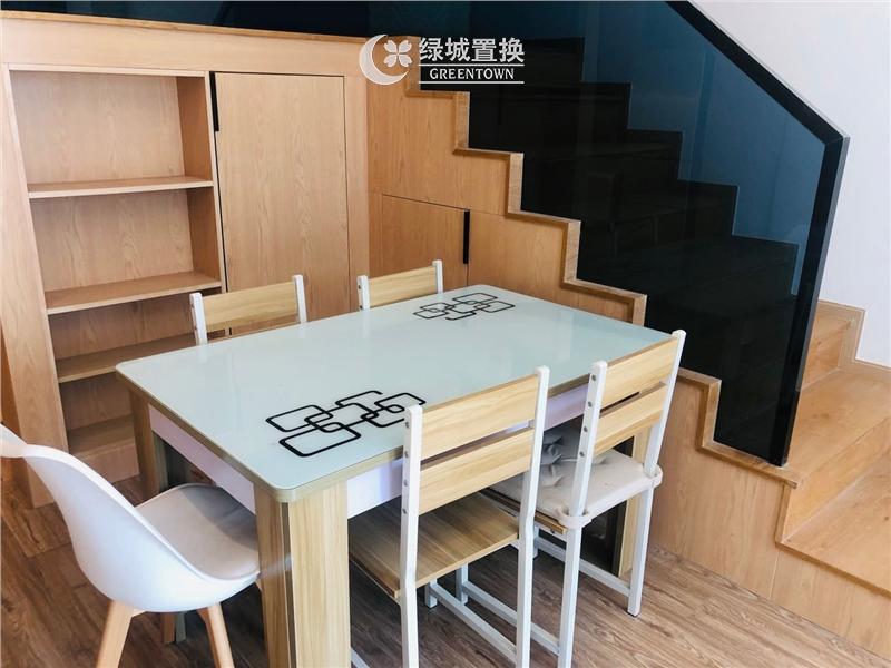 杭州绿地旭辉城出租房餐厅照片,