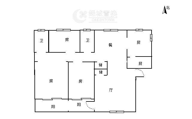 杭州蓝庭花园出租房户型图照片,