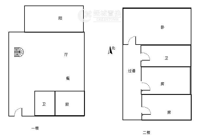 杭州金地自在城出租房户型图照片,