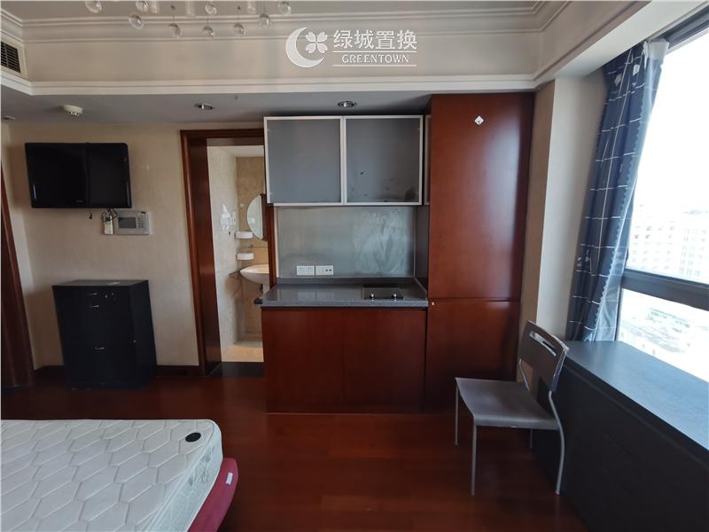 杭州深蓝广场西楼出租房房间照片,精装拎包入住